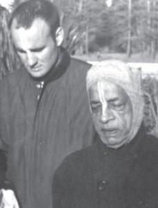 Jayananda Prabhu with Srila Prabhupada