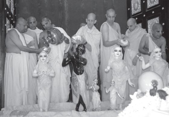 Abhishek of The Deities