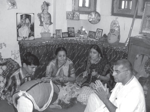 With Family in Ujjain