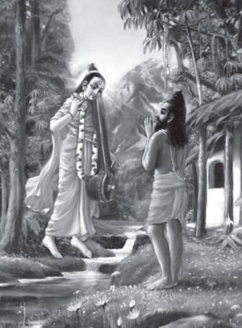 Srila Narada Muni Visit Vyasdeva And Removes His Confusion