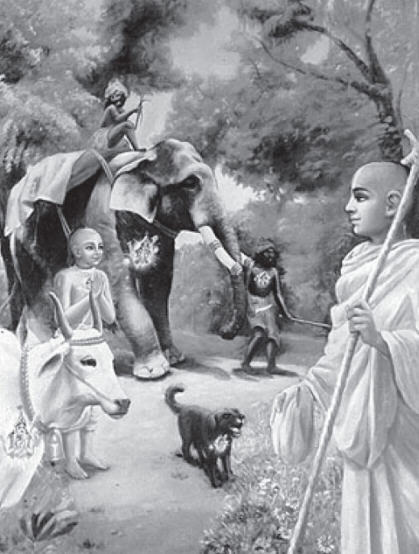 An Advanced Devotee Sees Everyone and Everything in Relation To Krsna