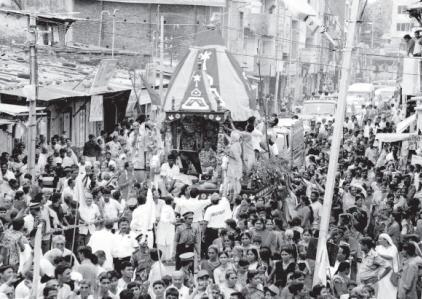 First Rathyatra at Vallabh Vidyanagar