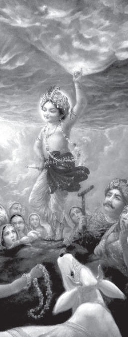 Krsna : The Lifter Of Govardhana Hill