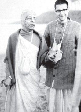 Giriraja Swami With Srila Prabhupada