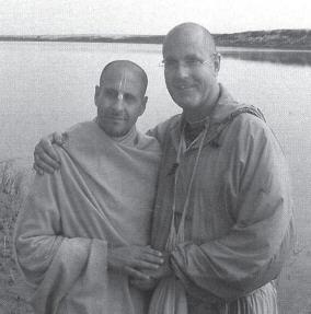 Indradyumna Swami With Radhanath Maharaj