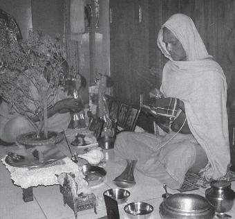 Worshiping Deities