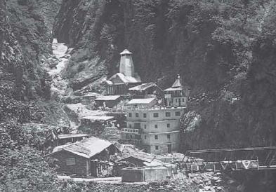 The Gangotri Temple