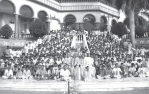 Students at Srila Prabhupada