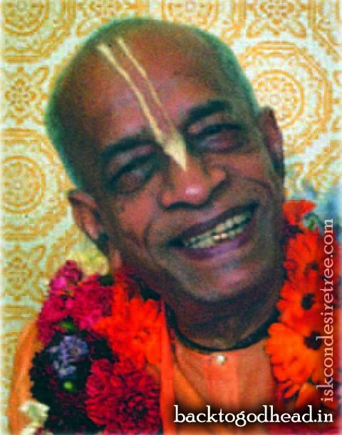 Abhay Carana Bhaktivedanta Swami Prabhupada  - Back To Godhead