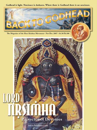 Back To Godhead Volume-41 Number-06, 2007