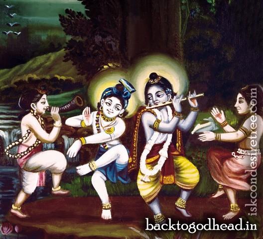 Krishna Balarama Dance - Back To Godhead