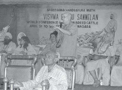 Balabhadra Dasa Speak At The Conference