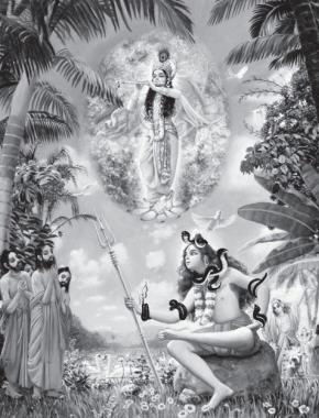 Lord Ship and Krishna