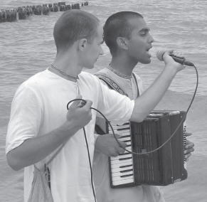 Kirtan at Baltic Sea