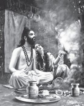 Diti and Kashyap Muni
