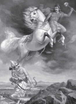 Indra Stealing Horses