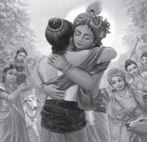 Krsna with Balarama