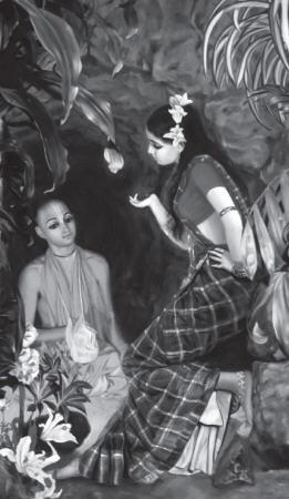 Three Nights Before Tulasi by Vamsi Vihari Dasa