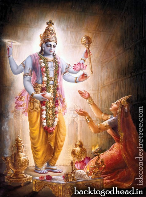 Lord Vamana Resolves the Universal Conflict by Aja Govinda Dasa