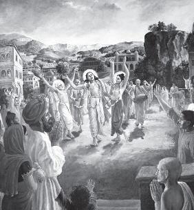 Gaur Nitai Chanting Maha Mantra