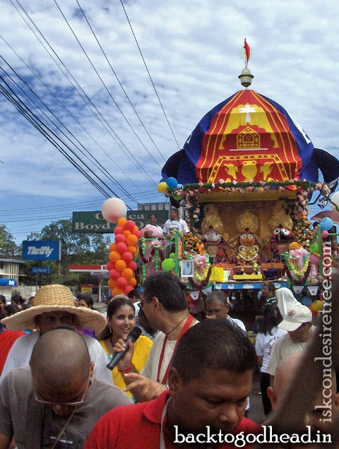 A Chariot Rolls in Panama by Arcana Siddhi Devi Dasi