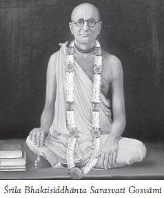Bhaktisiddhant Sarasvati Thakur