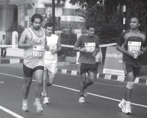Running For Peace by Murari Gupta Dasa