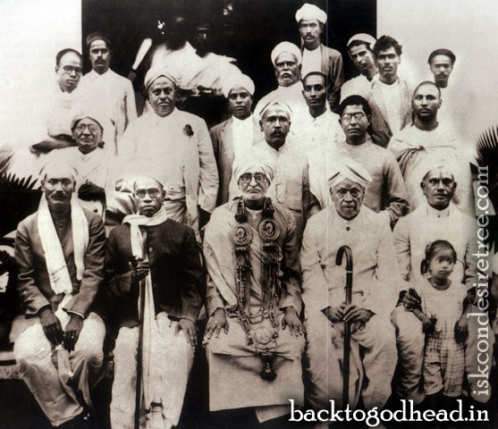 Srila Saraswati Thakur - Back To Godhead