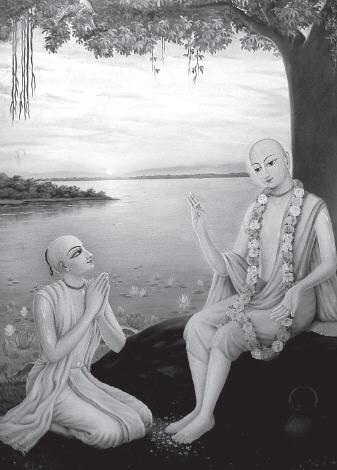 Lord Caitanya Instructing Sanatana Goswami