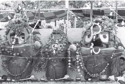 Snan Yatra of Jagannath ji