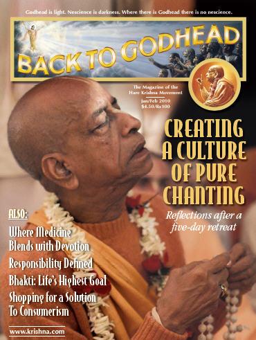 Back To Godhead Volume-44 Number-01, 2010