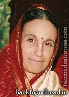 Daivisakti Devi dasi - Back To Godhead - Daivisakti-Devi-dasi-Back-To-Godhead