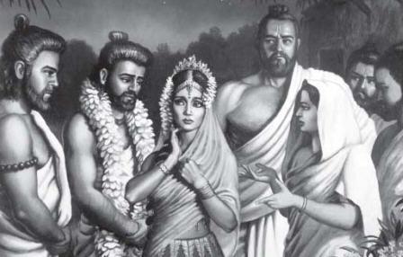 Five husbands of Draupadi  by Dhruva Dasa