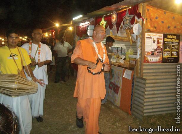 Bhaktimarga swami - Back To Godhead