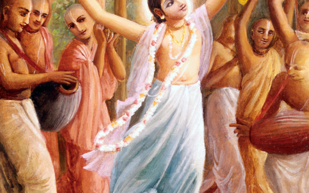 Lord Nityananda Delivers The Thieves by Mohini Radha Devi Dasi