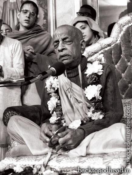 Srila Prabhupada Kirtan - Back To Godhead