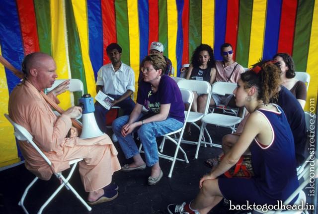 bhakti caitanya swami - Back To Godhead