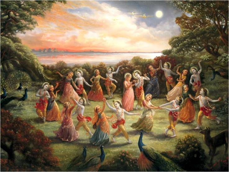 The Divine Night by Radhanatha Swami