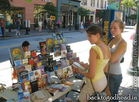 Book Display in Silicon Valley - Back To Godhead