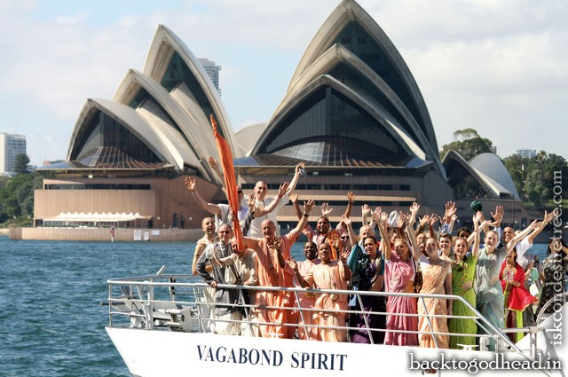 Seeking Treasure on Sydney Harbour by Gaura Hari Dasa and Sri Prahlada Dasa