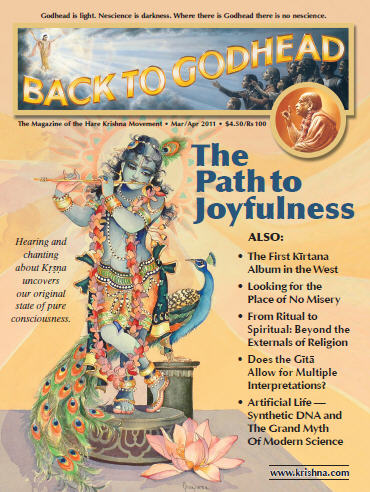 Back To Godhead Volume-45 Number-02, 2011