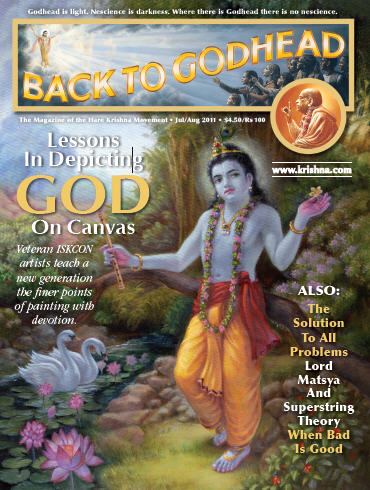Back To Godhead Volume-45 Number-04, 2011