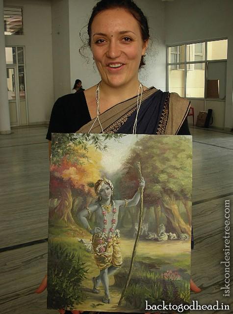 Krsna Painting - Back To Godhead