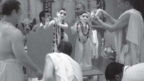 Deities of Sri Sri Radha-Govindaji