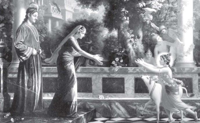 He Appeared As The Son Of Devaki And Vasudeva