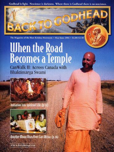 Back To Godhead Volume-38 Number-03, 2004