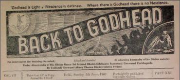 Back To Godhead Volume-03 Number-21, 1960