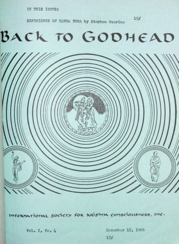 Back To Godhead Volume-01 Number-04, 1966