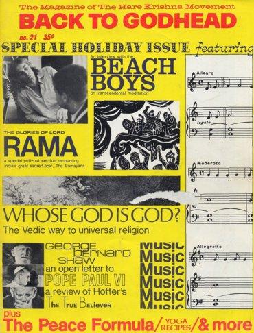 Back To Godhead Volume-01 Number-21, 1968
