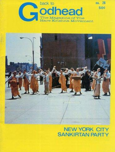 Back To Godhead Volume-01 Number-28, 1969